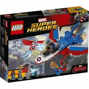 LEGO (76076) Captain America Jet Pursuit