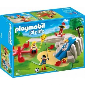 PLAYMOBIL City Life (4132) Super Set Παιδική Χαρά