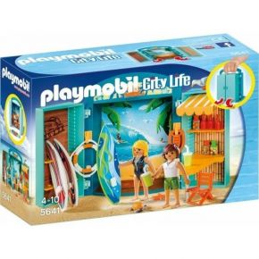 "PLAYMOBIL City Life (5641) Play Box ""Surf Box"""