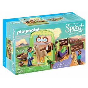 PLAYMOBIL Spirit (9479) H Pru Με Το Άλογο Chica Linda