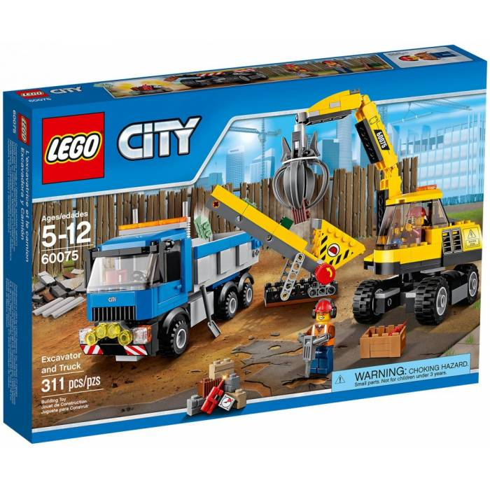 LEGO City (60075) Excavator and truck